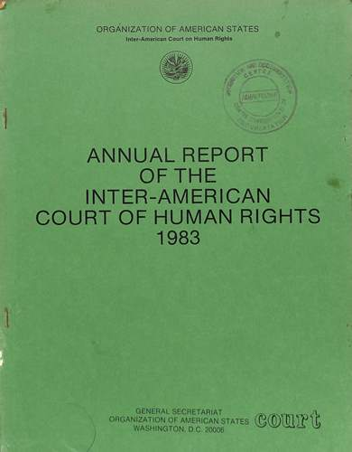 Annual report of the inter-American commission on human rights 1983