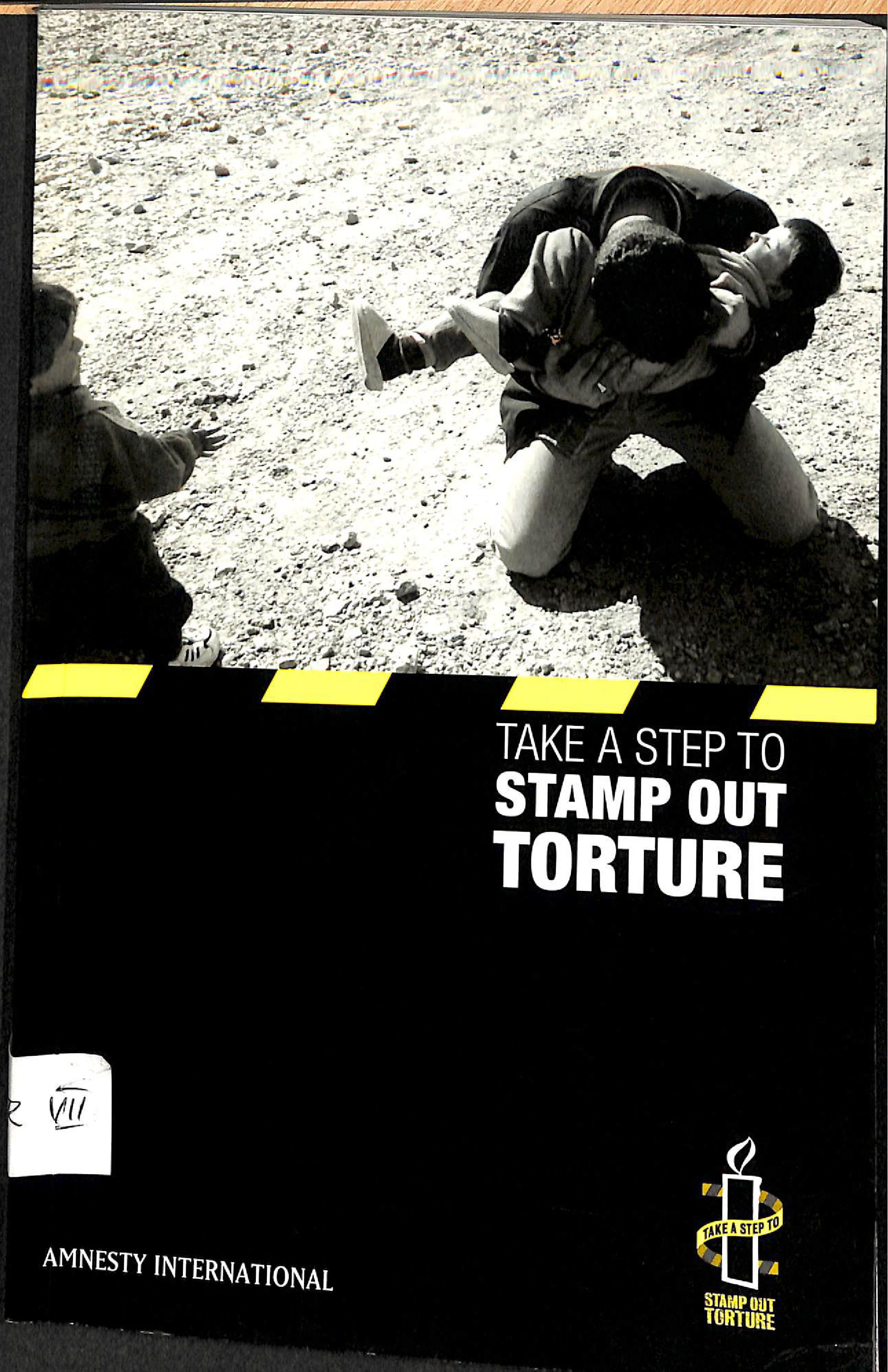 Take a step to stamp out torture