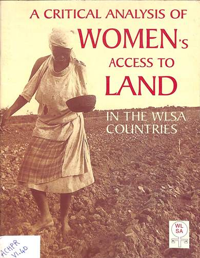 A critical analysis of women's access to land in the WILSA countries