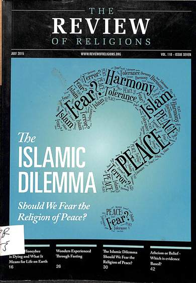 The islamic delimma: Should we fear the religion of peace?