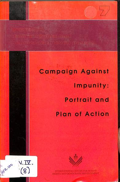 campaign against impurity portrait and plan of action: Essays on human rights and development
