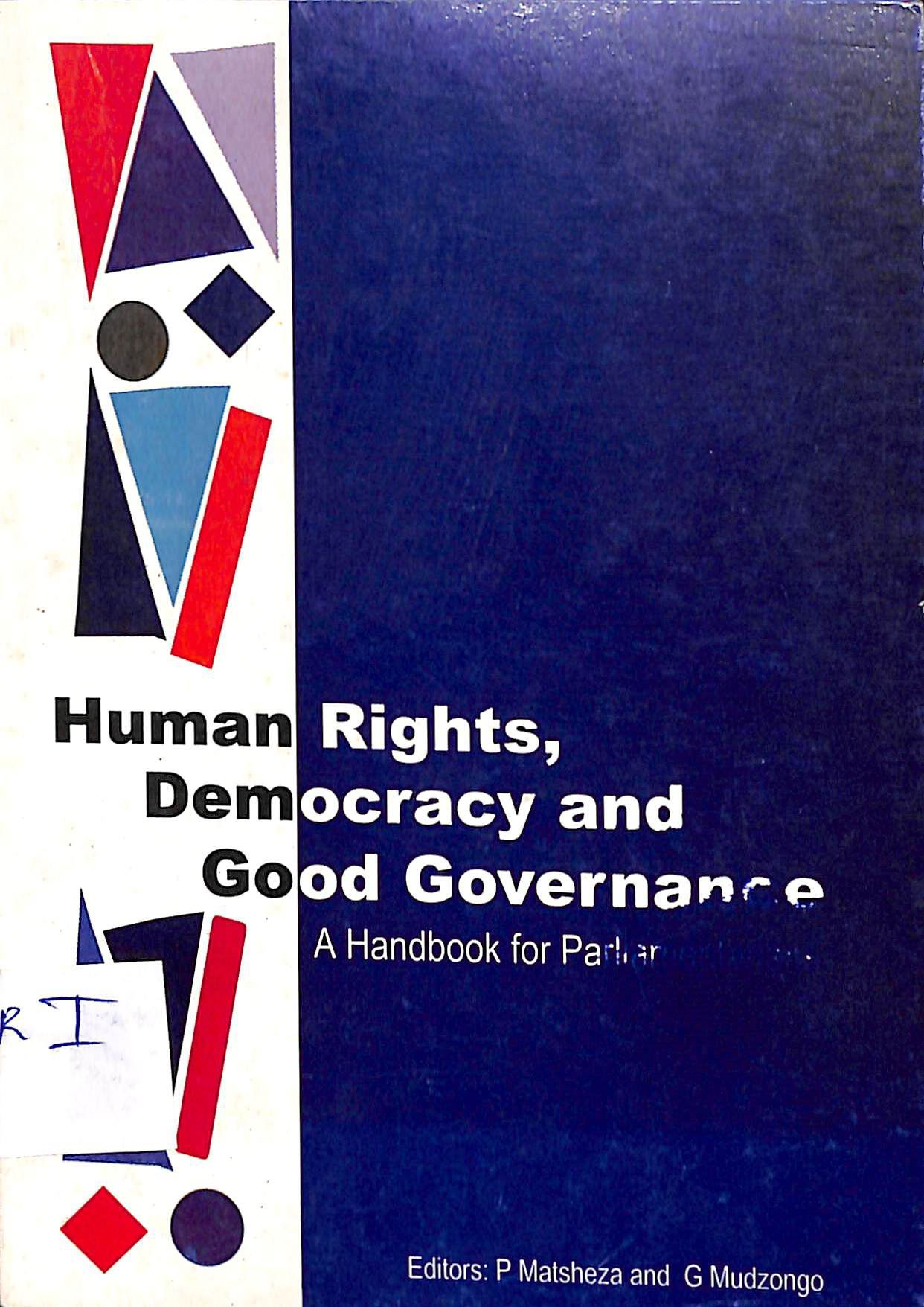 Human rights, democracy and good governance: a handbook for parliamentarians